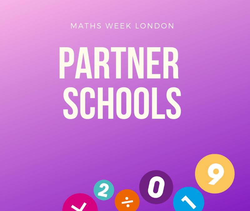 Maths Week London Partner Schools