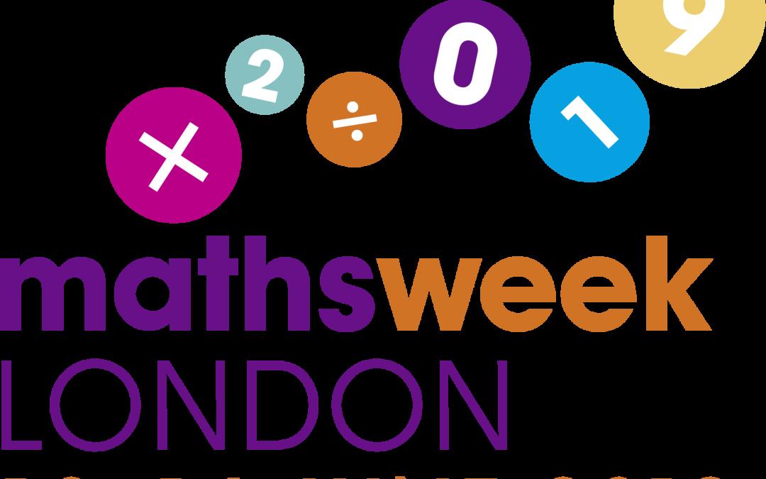 Maths Week London is here!