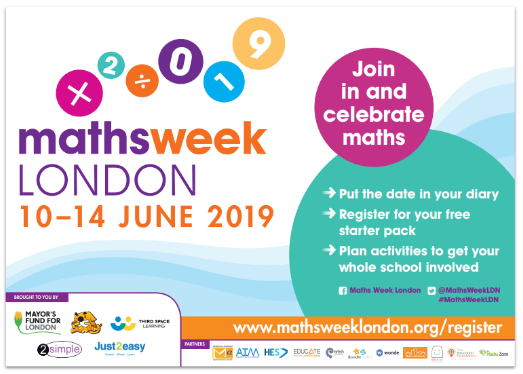 Maths Week London Poster
